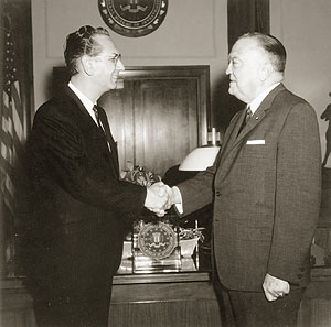 Commendations from J. Edgar Hoover